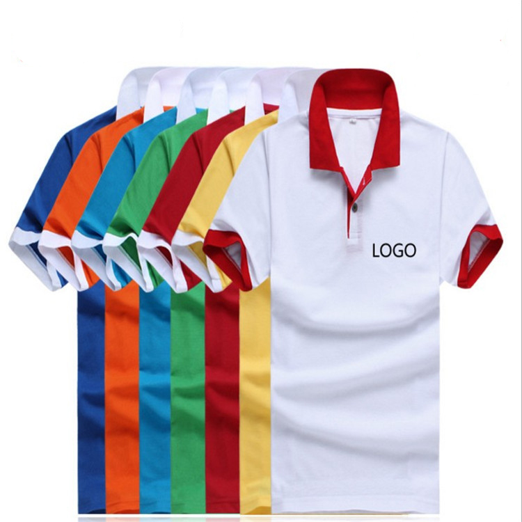 160gsm Cotton Jersey Polo T Shirt Promotional Merchandise